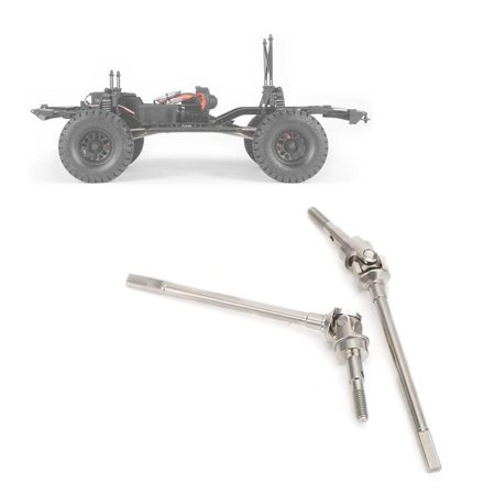 Cergrey Front RC Drive Shaft Axle, Rear RC Drive Shaft Axle, Front Rear Axle Drive Shaft Fit for AXIAL SCX10 II 90046 90047  RC Car Model - image 6 of 6