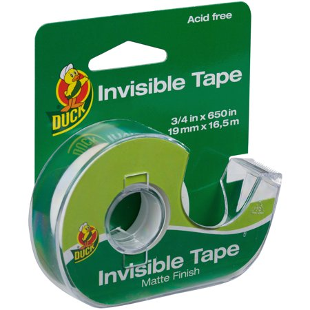 "Duck Invisible Tape With Dispenser .75""X650""- - image 1 de 1"