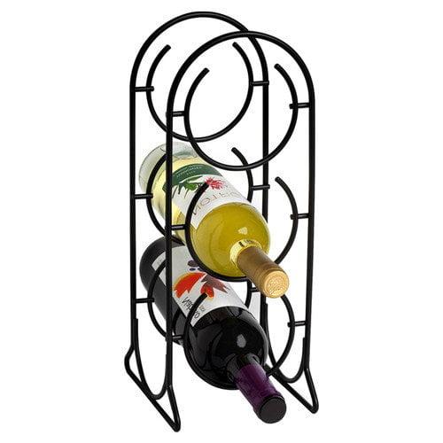 Spectrum Diversified Horseshoe 3 Bottle Tabletop Wine Rack