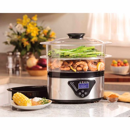 Hamilton Beach 5.5-Quart Digital Steamer