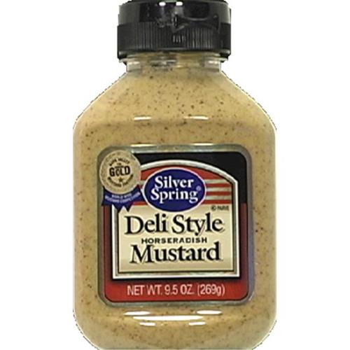 SILVER SPRINGS  67119 SILVER SPRINGS MUSTARD DELI STYLE SQUEEZE - Pack of 9 - 9. 5 OZ