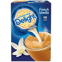 International Delight French Vanilla Coffee Creamer Singles, 48 Count