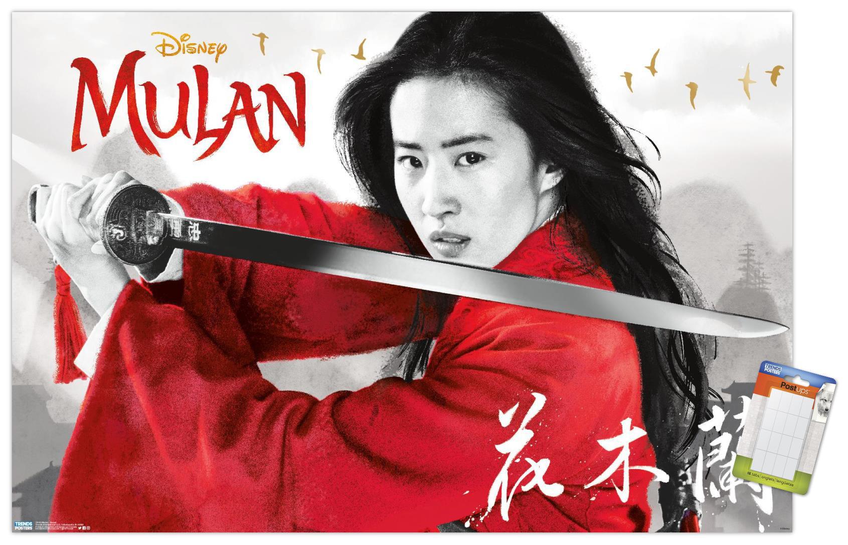 Mulan Sword Type Book Marker Disney