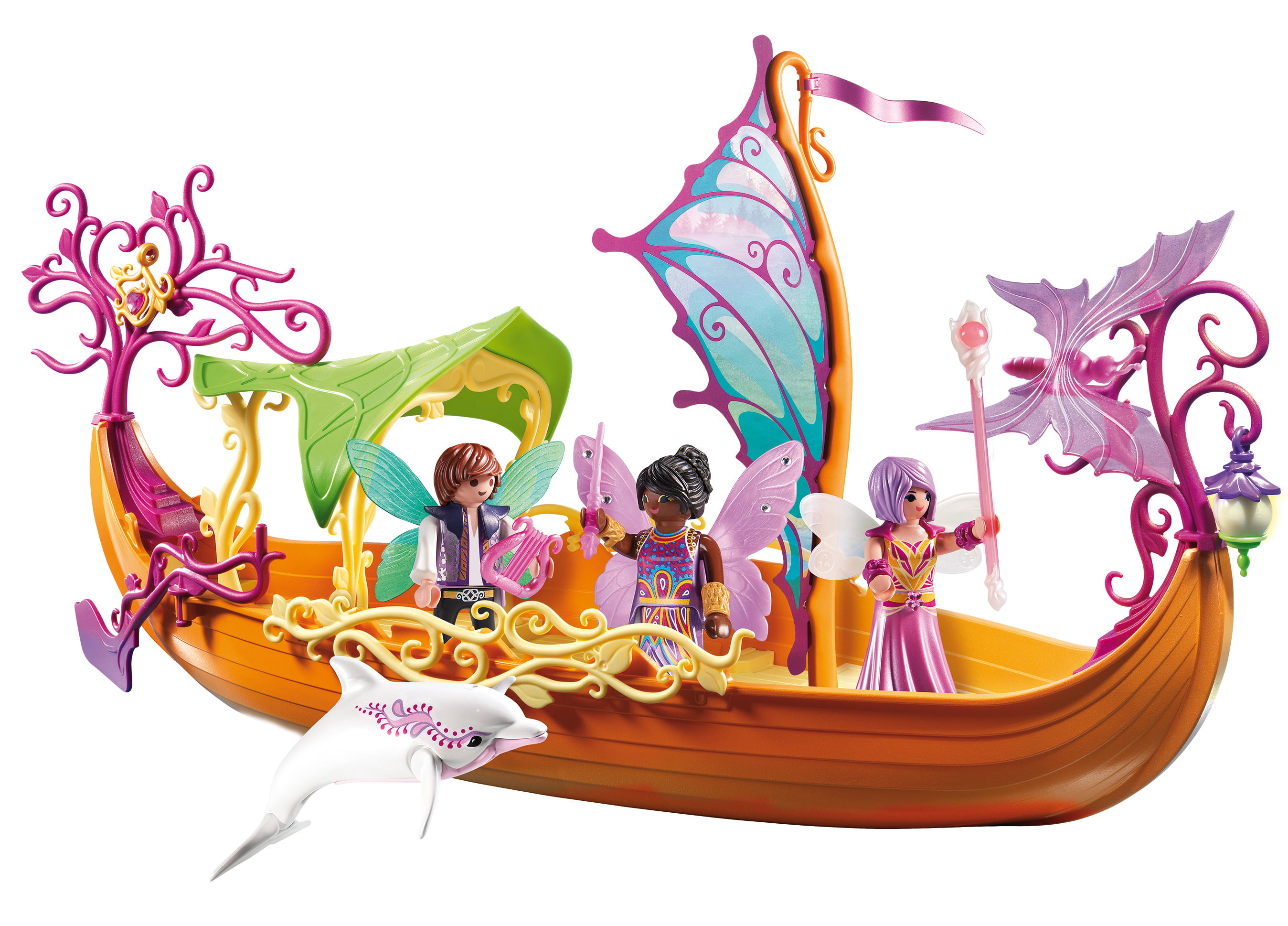 PLAYMOBIL Enchanted Fairy Ship by Playmobil
