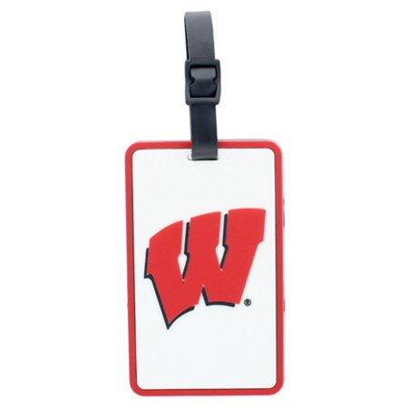 Aminco Wisconsin Badgers Soft Luggage/Bag (Wisconsin Badgers Bag Tag)