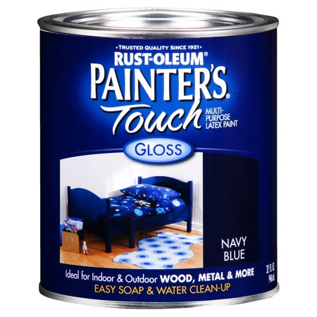 Painters Touch  1922-502 1 Quart Navy Blue  Multi-Purpose Paint