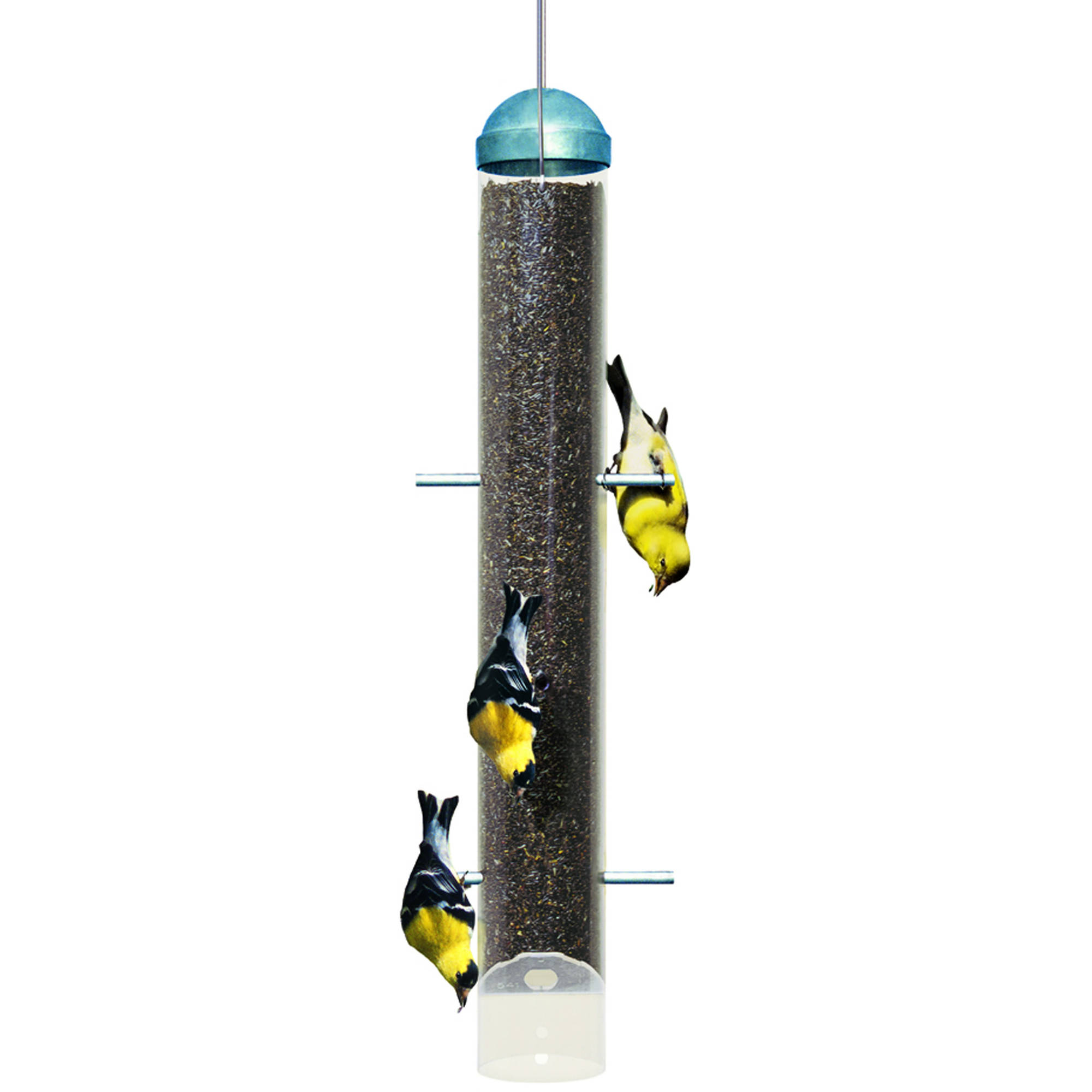 Perky-Pet Patented Deluxe Upside Down Thistle Feeder