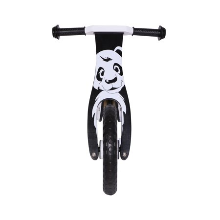 KOBE Wooden Balance Running Bike - Birch Wood No Pedals - Perfect Training Bike For Toddlers & Kids - Panda - image 8 de 11