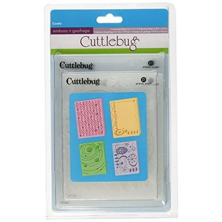 Provo Craft Cuttlebug Embossing Folder (Cuttlebug Provo Craft Embossing Folders,)