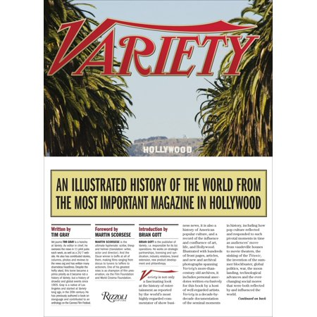 Variety : An Illustrated History of the World from the Most Important Magazine in Hollywood