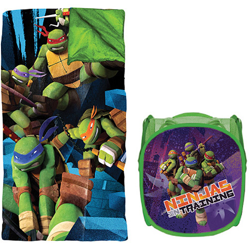 Teenage Mutant Ninja Turtles Sleeping Bag and Hamper