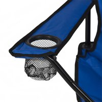 Anti-UV Umbrella Fishing Camping Chair Outdoor 2-Seat Folding Stool Beach Leisure Lounge Chair