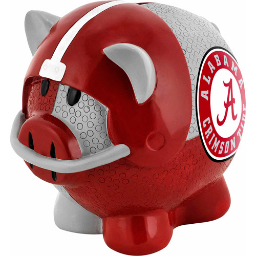 Alabama Crimson Tide Piggy Bank - Thematic Large