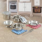 Step2 Cooking Essentials 10-Piece Set, Stainless Steel