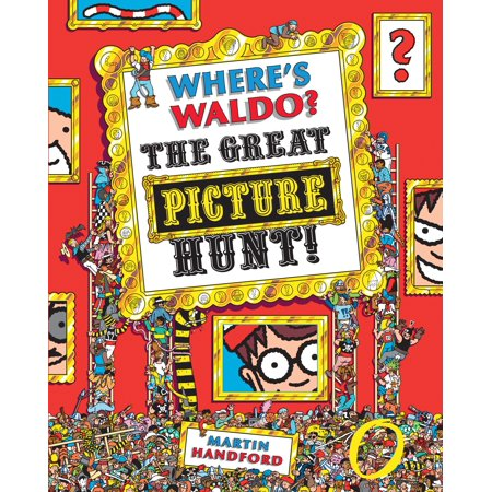 Where's Waldo? the Great Picture Hunt (Paperback)](Nate The Great Halloween Hunt)