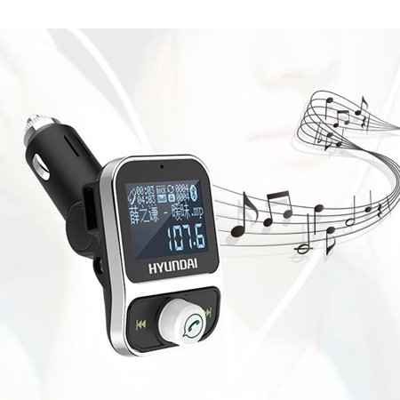 Car MP3 Player for Hyundai Bluetooth FM Transmitter Handsfree USB Cigarette  Lighter MP3 Charger Color:Hyundai HY88 gun color | Walmart Canada