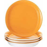 Rachael Ray Round and Square Salad Plates, Set of 4
