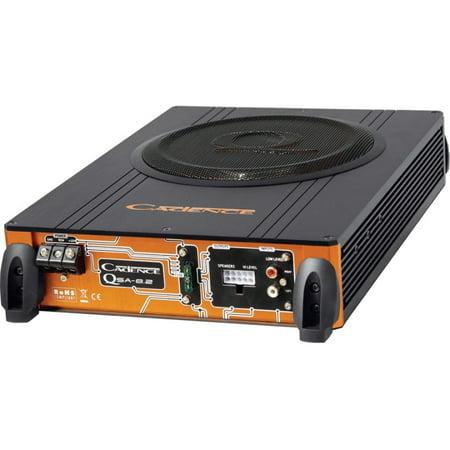 cadence qsa-pr8 8 slim car audio subwoofer enclosure1