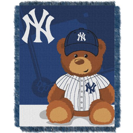 New York Yankees The Northwest Company 36'' x 46'' Baby Jaquard Throw - No Size