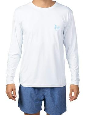 Endless Summer Men's Long Sleeve Logo Rash Guard, up to Size 2XL