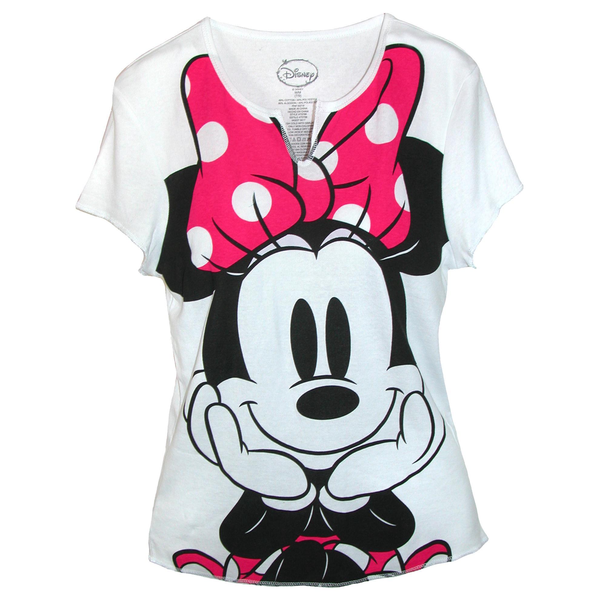 788a929b Disney Women's Minnie Mouse Tee Shirt Top   Walmart Canada