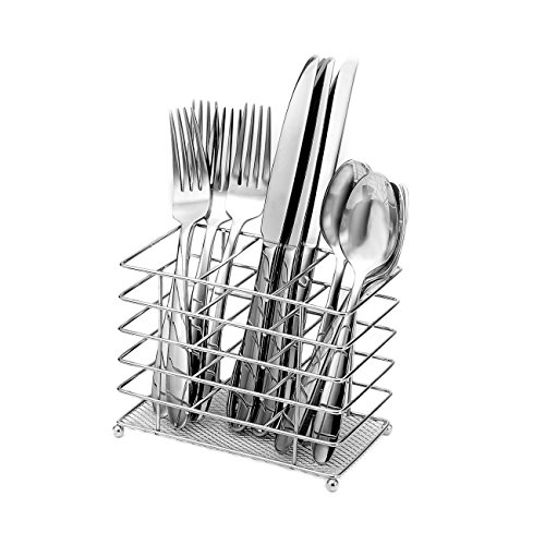 Oneida Eve 12-Piece Flatware Set with Countertop Caddy, Service for 4