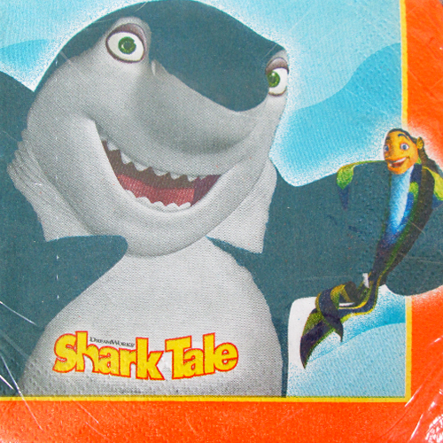 Shark Tale Small Napkins (16ct)