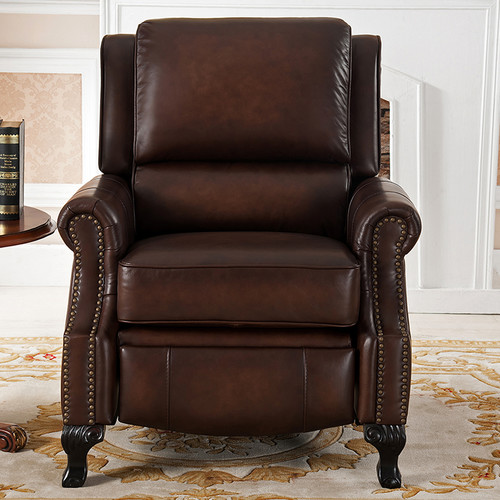 Amax Princeton Leather Manual Recliner
