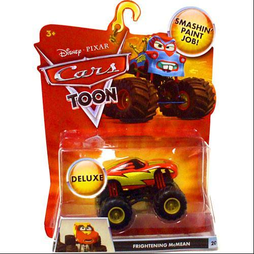 Disney Cars Cars Toon Deluxe Oversized Frightening McMean 1:55 Diecast Car by