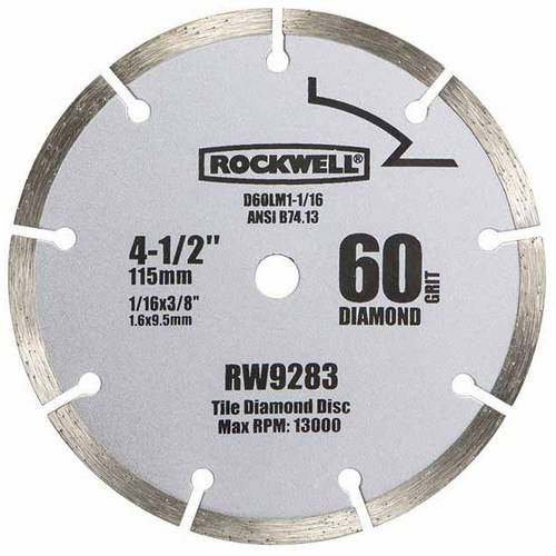 "RockwellCompact Circular Saw 4.5"" Diamond Blade"