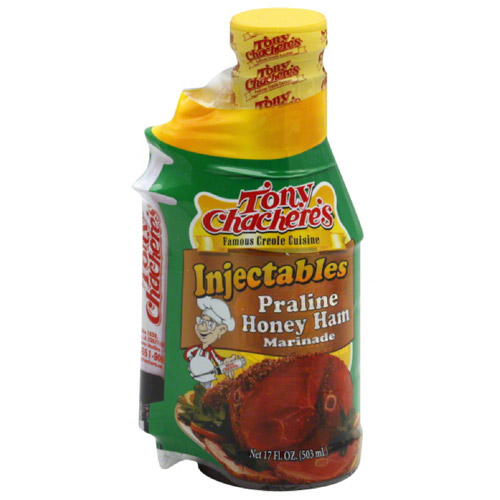 ole Cuisine Injectables Praline Honey Ham Marinade, 17 fl oz, (Pack of 6)