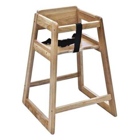 Wood High Chair, Light ,Csl Foodservice And Hospitality, 800LT