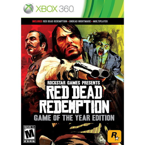 Red Dead Redemption: Game of the Year (Xbox 360)