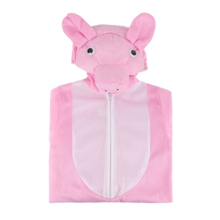 Toddlers' One Piece Adorable Farm Animal Halloween Costume - Pig,S - Grant's Farm Halloween