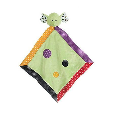 Green Security Blanket (Ganz Lookie-Loos Green Dot Elephant Security Blanket)