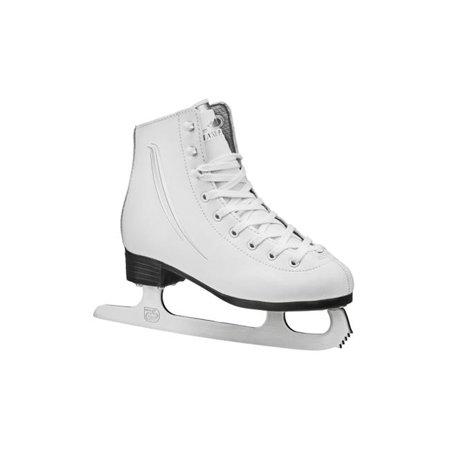 Lake Placid LP204G11 Cascade Girls Figure Ice Skate, White, Youth Size - 11 - image 1 of 1