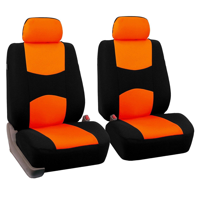 4pcs/set Universal Car Front Seat Cushion Cover + Head Cushion Cover Breathable Cloth Seat Cover Pad Set