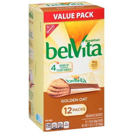 Nabisco Belvita Breakfast Biscuits Golden Oat   12 Pk  1 76 Oz
