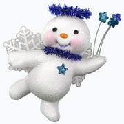 Hallmark Keepsake Christmas 2019 Year Dated Sweet Star Angel Snowman Ornament,