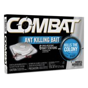 Combat Ant Killing System, Child-Resistant, Kills Queen & Colony, 6 box by Dial