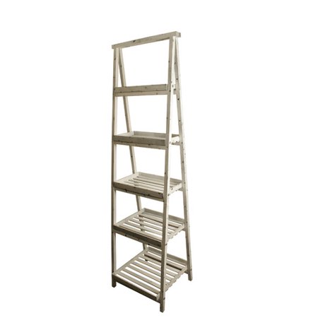 - WaldImports Traditional Ladder Bookcase