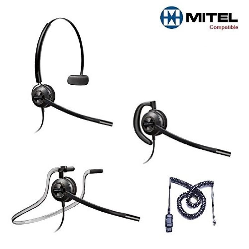 Mitel Compatible Plantronics EncorePro 540 HW540 Headsets