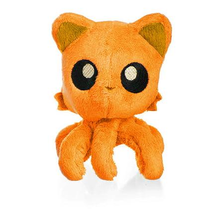 Tentacle Kitty Little Ones 4   Plush  Orange