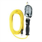 Voltec 08-00185 50 ft. SJT, 75 Watt - Yellow Metal Work Light, Outlet In Handle, Case Of 6