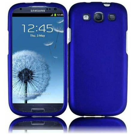 Hard Rubberized Case for Samsung Galaxy S3 i9300 - (The Best Case For Samsung Galaxy S3)