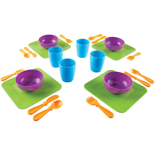Learning Resources New Sprouts Serve It! Dish Set