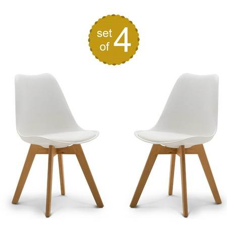 Modern Style Dining Chair Mid Century Modern DSW Chair, 19