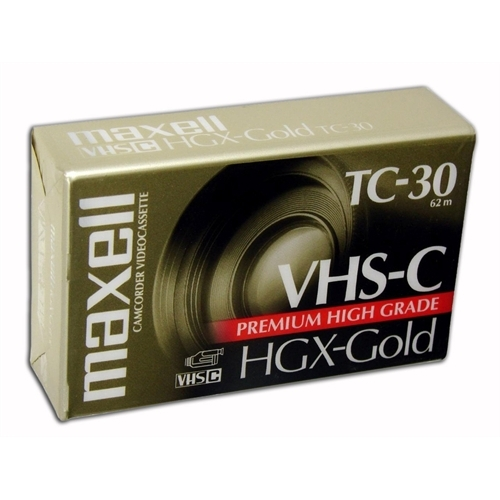 Maxell High Grade VHS-C Videocassette 203010 by Maxell