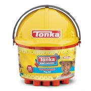 Tonka Mighty Builders Hard Hat Bucket Play Set – Construction – 25 pcs