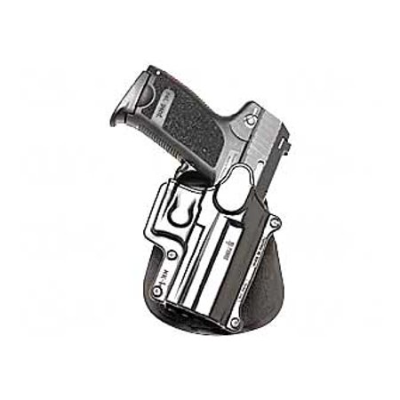 FOBUS ROTO PADDLE HOLSTER HK USP COMPACT 9MM/40/45; S&W PLASTIC BLACK